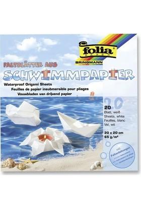 Folia Su Geçirmez Origami Kağıdı 20 Tabaka