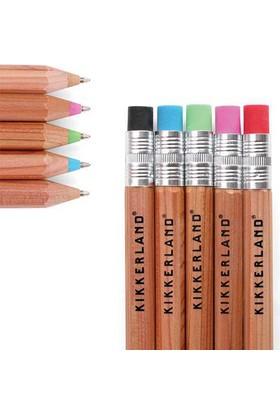Kikkerland Wooden Ballpoint Pen - Ahşap Tükenmez Kalem