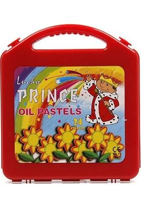 Monami Lucky Prince 24 Renk Çantalı Pastel Boya