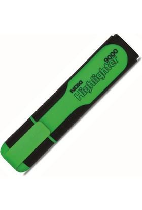 Noki 9000S Fosforlu Kalem Renk - Yeşil
