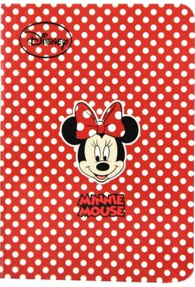 Notix Minnie Mouse A6 48 Yaprak Çizgili Not Defteri