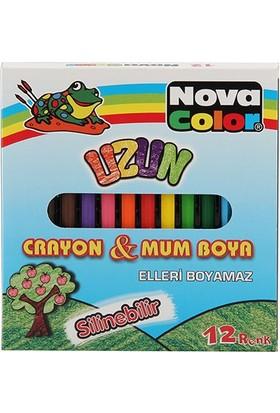 Nova Color Boya Kalemi 12Li Uzun Nc-2112