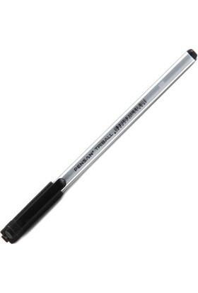 Pensan Triball 1003 Tükenmez Kalem 12'li Paket Renk - Siyah