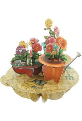 Santoro Gc Pirouettes Çiçekler 3D Kart Ps015