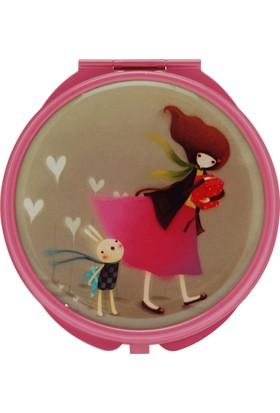 Santoro Kori Kumi Gift Of Friends A.Pembe Compact Ayna 482Kk02