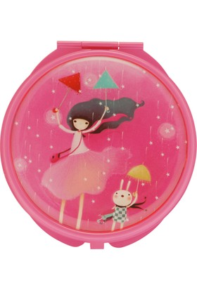 Santoro Kori Kumi Under My Umbrella Pembe Compact Ayna 482Kk03