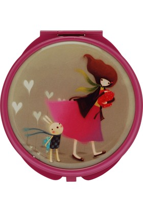 Santoro Kori Kumi Gift Of Friends K.Pembe Compact Ayna 482Kk02