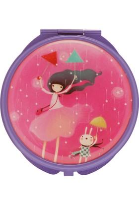 Santoro Kori Kumi Under My Umbrella Lila Compact Ayna 482Kk03