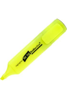 Scrikss Sh712 Sarı Fosforlu Kalem