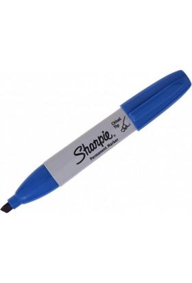 Sharpie Permanent Chısel Kesik Uç Mavi 38203