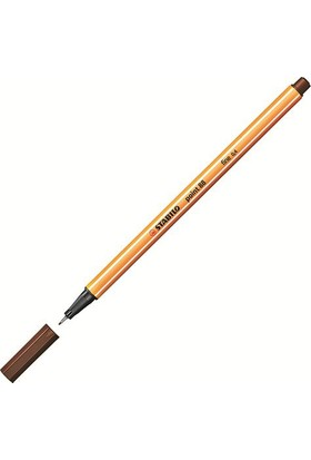 Stabilo Point 88 Keçe Uçlu Kalem Renk - Kahverengi