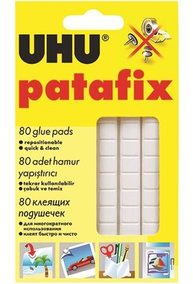 Uhu Patafix Renk - Beyaz