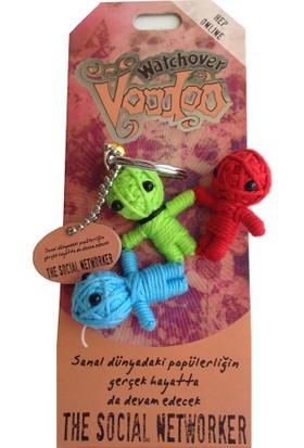 Voodoo The Social Networker Anahtarlık 043