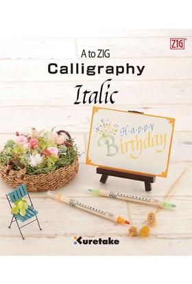 Zig Eğitim Kitapçığı Kaligrafi İtalik Intx200-801