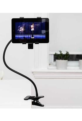 Kikkerland Gooseneck - Flexıble Tablet Holder - Esnek Tablet Tutucu - Kıvrılabilen Tablet Tutucu