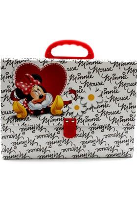 My Note Minnie Mouse Saplı Kutu Dosya