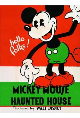 My Note Mickey Mouse Hello 40 Yaprak Çizgili Defter