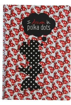 My Note Minnie Mouse Pp Kurdela Desenli Spiralli A4 80 Yp Kareli Defter