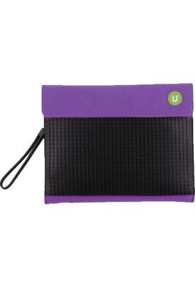 Pixie Crew Bags Mor - Siyah Tablet Çantası