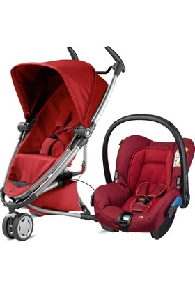 Quinny Zapp Xtra 2 Bebek Arabası + Citi 2 Red Rumour