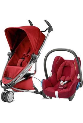 Quinny Zapp Xtra 2 Bebek Arabası + Cabriofix Red Rumour