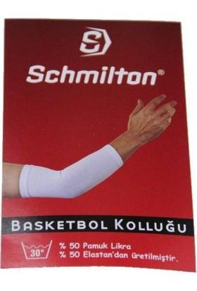 Schmilton Likralı Basketbol Kolluğu Beyaz