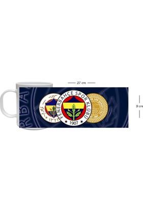 Fotografyabaskı Fenerbahçe Taraftar Beyaz Beyaz Kupa Bardak Baskı Baskı
