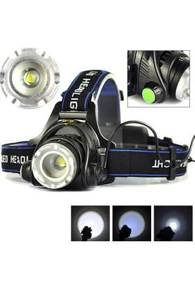 Boruit Led Kafa Feneri 2000Lm Xm-L T6 2000 Lumens 3 Modlu