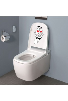 DekorLoft Tuvalet Sticker Wc-1501