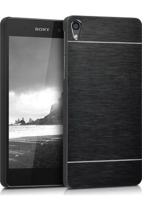 Microsonic Sony Xperia E5 Kılıf Hybrid Metal Siyah