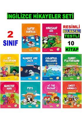Akılyolu Publishing 2. Sınıf İngilizce Hikayeler Seti (10 Kitap) - Hasan Güneri