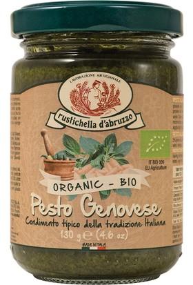 Rustıchella d AbruzzoOrganik Genoese Pesto Makarna Sosu 130 gr