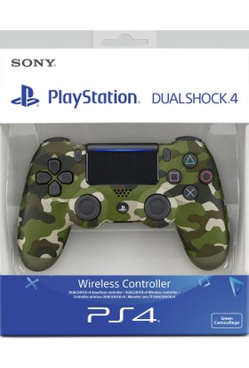 Sony Ps4 Dualshock Kablosuz Kumanda Green Camo V2 (Sony Eurasia)