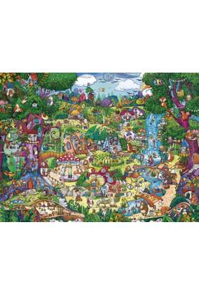 Heye 1500 Parça Wonderwoods Puzzle (Rita Berman)