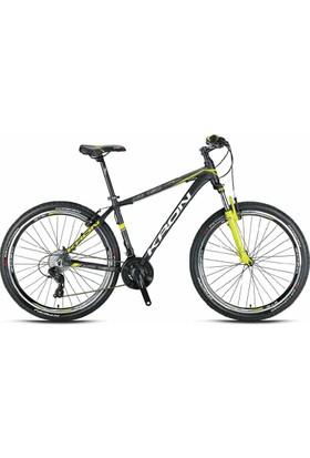 Kron XC 150 27.5 V 2017 Model Dağ Bisikleti Mat Siyah-Yeşil