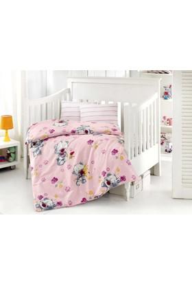 Altınbaşak Bebek Uyku Seti Puffy Pembe