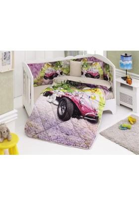 Colors Of Fashıon Ranforce Bebek Uyku Seti 3D 1251 Cars