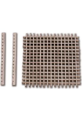 Constructo Taban Tahtası, 50 x 50 mm Şimşir, 1 Adet