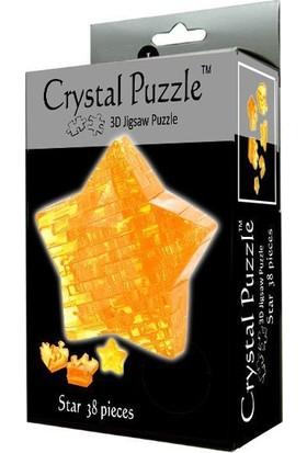Crystal Puzzle Sarı Yıldız
