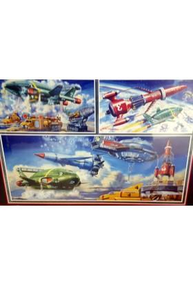 Falcon Thunderbirds Iconic Vehicles, 1000 Parça Puzzle