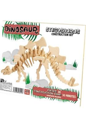 Professor Puzzle Stegosaurus, Ahşap Kit