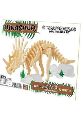 Professor Puzzle Styragosaurus, Ahşap Kit