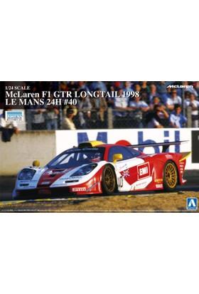 Aoshima Mclaren F1 Gtr Long Tail 1998 Le Mans 24 Hours