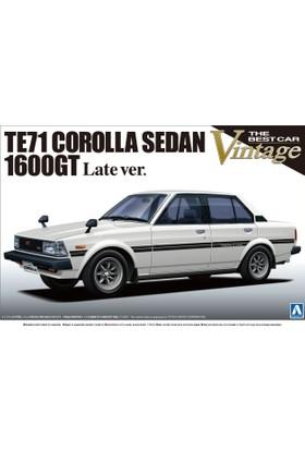 Aoshima Te71 Corolla Sedan 1600Gt Late Version