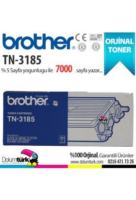 Brother TN3185 / DCP8060/ 8065 /HL5240 /HL5250 /HL5270 /HL5280 /MFC8460 Orjinal Toner