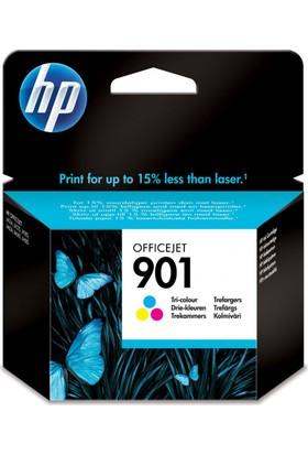 Hp 901 CC656A Renkli Kartuş / Hp Officejet 4500 / 4500W / J4500 / J4524 / J4550 / J4600 / J4680C Tricolour Orjinal Mürekkep Kartuşu