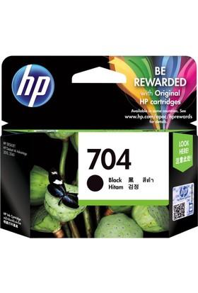 HP 704 CN692A Siyah Orjinal Kartuş