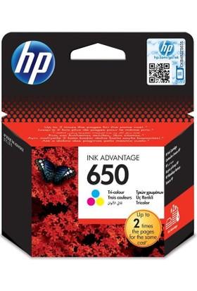 HP 650 CZ102A Renkli Orjinal Kartuş , HP Deskjet 2515 Renkli Orjinal Kartuşu