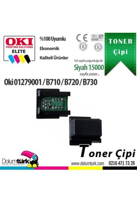 Oki B710 / B720 / B730 / 01279001 Chip