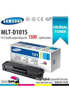 Samsung MLT-D101S / ML-2160 / ML-2165 / SCX-3400 / SCX-3405 / SF-760 Orjinal Toner
